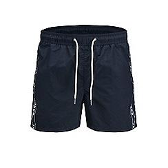 Jack & Jones - Navy 'Sunset' jack swim shorts