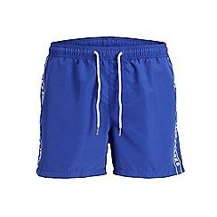 Jack & Jones - Bright blue 'Sunset' jack swim shorts