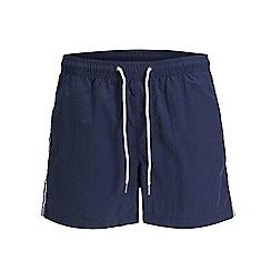 Jack & Jones - Navy 'Sunset' swim shorts
