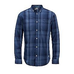 Jack & Jones - Navy 'Clinton' checked shirt