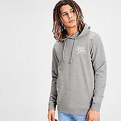 Jack & Jones - Light grey 'Galions' hoodie
