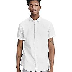 Jack & Jones - White short sleeved 'Summer' shirt