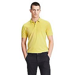 Jack & Jones - Yellow 'Basic' polo shirt