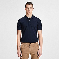 Jack & Jones - Navy 'Basic' polo shirt