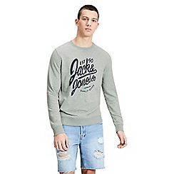 Jack & Jones - Light green 'Breeze' sweat shirt