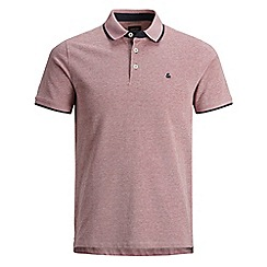 Jack & Jones - Red 'Paulos' polo shirt
