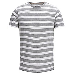 Jack & Jones - White 'Stripe' t-shirt