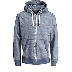 Jack & Jones - Navy 'Space' zip up hood
