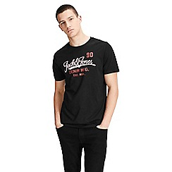 Jack & Jones - Black 'Logo' t-shirt