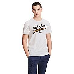 Jack & Jones - Ivory 'Logo' t-shirt
