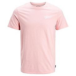 Jack & Jones - Pink 'Hobbs' t-shirt