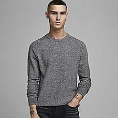 Jack & Jones - Grey 'Structure' knit