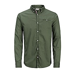 Jack & Jones - Dark green 'Greg' shirt