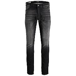 Jack & Jones - Black 'Glenn 890' indigo knit jeans
