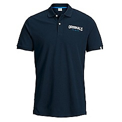 Jack & Jones - Navy 'Limit' polo shirt
