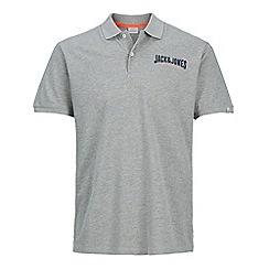 Jack & Jones - Grey 'Limit' polo shirt