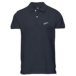 Jack & Jones - Navy polo shirt