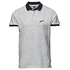 Jack & Jones - Light grey polo shirt