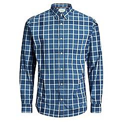 Jack & Jones - Blue 'Houston' checked shirt