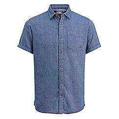 Jack & Jones - Blue 'Dunc' short sleeved shirt