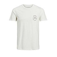 Jack & Jones - Ivory 'Autumn' t-shirt