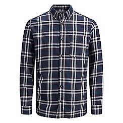 Jack & Jones - Burgundy 'Chris' checked shirt