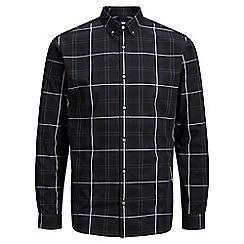 Jack & Jones - Navy 'Nathan' checked shirt