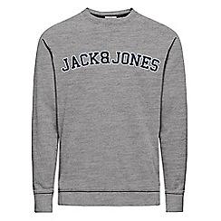 Jack & Jones - Grey 'Nevada' sweatshirt