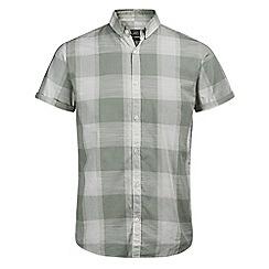 Jack & Jones - Light green 'Barney' short sleeved shirt