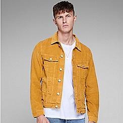 Jack & Jones - Brown 'Alvin' corduroy jacket