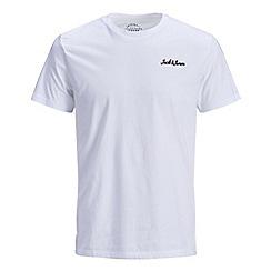 Jack & Jones - White 'Winks' basic t-shirt