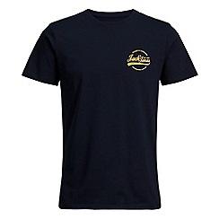 Jack & Jones - Navy 'Rafsmen' t-shirt