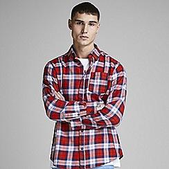 Jack & Jones - Red 'Nico' checked shirt