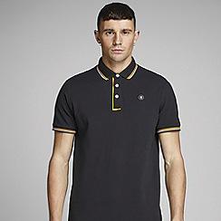 Jack & Jones - 'Black 'Challenge' Polo Shirt