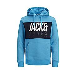 Jack & Jones - 'Blue 'Jonah' Hoodie