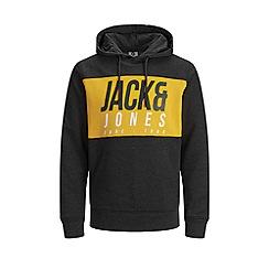 Jack & Jones - 'Black 'Jonah' Hoodie