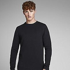 Jack & Jones - Black 'Dean' knitted jumper