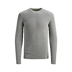 Jack & Jones - Grey 'Pop' knitted jumper
