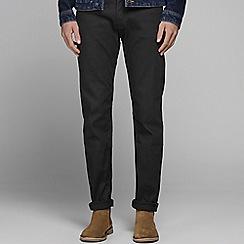 Jack & Jones - Black 'Mike 776' comfort fit jeans