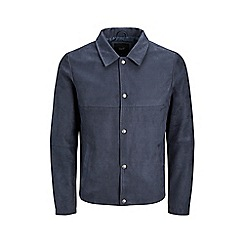 Jack & Jones - Navy 'Blair' trucker jacket