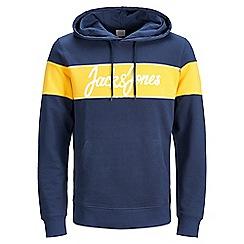 Jack & Jones - Navy 'Winksy' hoodie