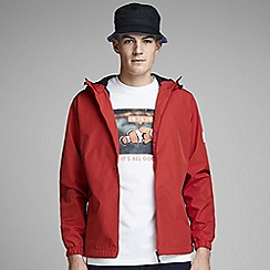 Jack & Jones - Red 'Glave' track jacket
