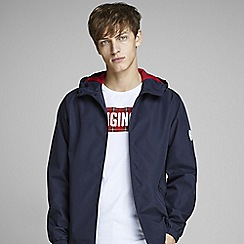 Jack & Jones - Navy 'Glave' track jacket