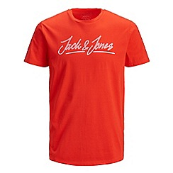 Jack & Jones - Red 'Empire' t-shirt