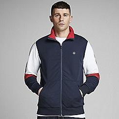 Jack & Jones - 'Navy 'Out' Zip Up Jacket