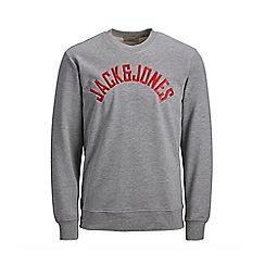 Jack & Jones - Grey 'Melvin' sweatshirt