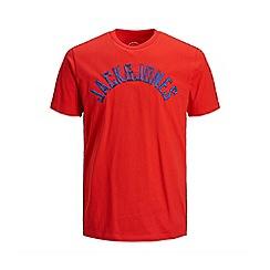 Jack & Jones - Red 'Melvin' t-shirt