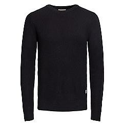 Jack & Jones - Black 'Adreas' knit