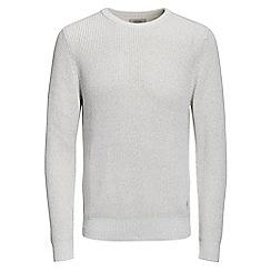 Jack & Jones - Light grey 'Andreas' knit