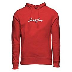 Jack & Jones - Red 'Galions' hoodie
